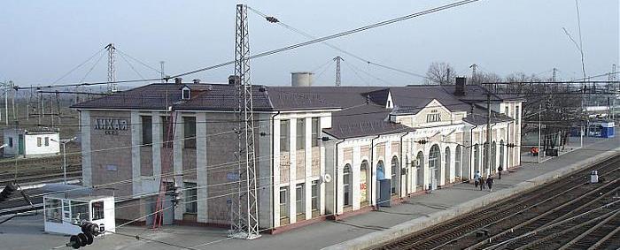 ЖД вокзал Лихая