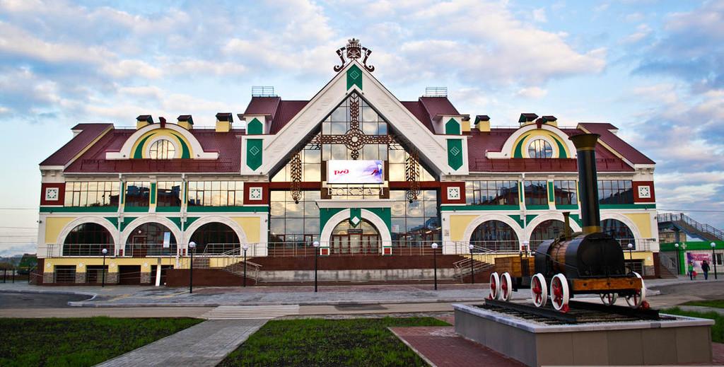 ЖД вокзал Белово