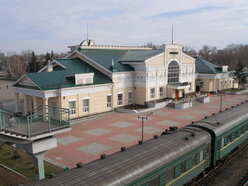 ЖД вокзал Рубцовск