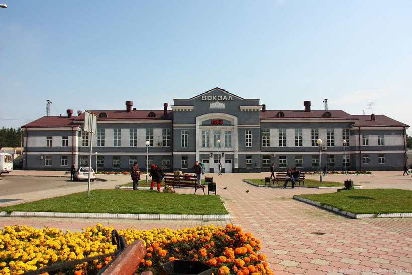 ЖД вокзал Ангарск