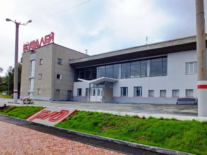 ЖД вокзал Верхний Уфалей