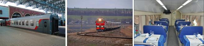 Фирменный поезд Анапа – Москва (011Э/012М)
