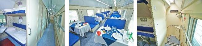 Фирменный поезд Москва – Казань (двухэтажный, 023Г/024М)