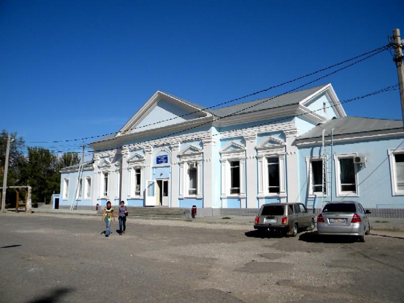 ЖД вокзал Верхний Баскунчак