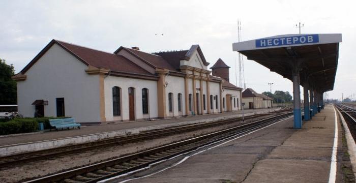 ЖД вокзал Нестеров