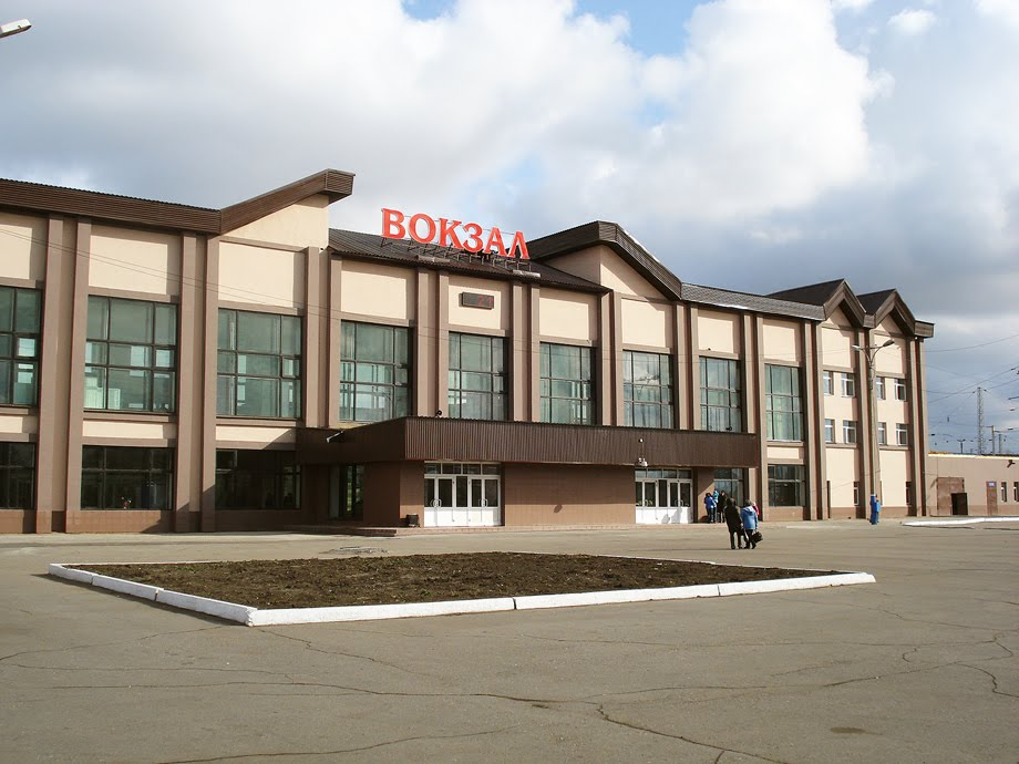 ЖД вокзал Черемхово