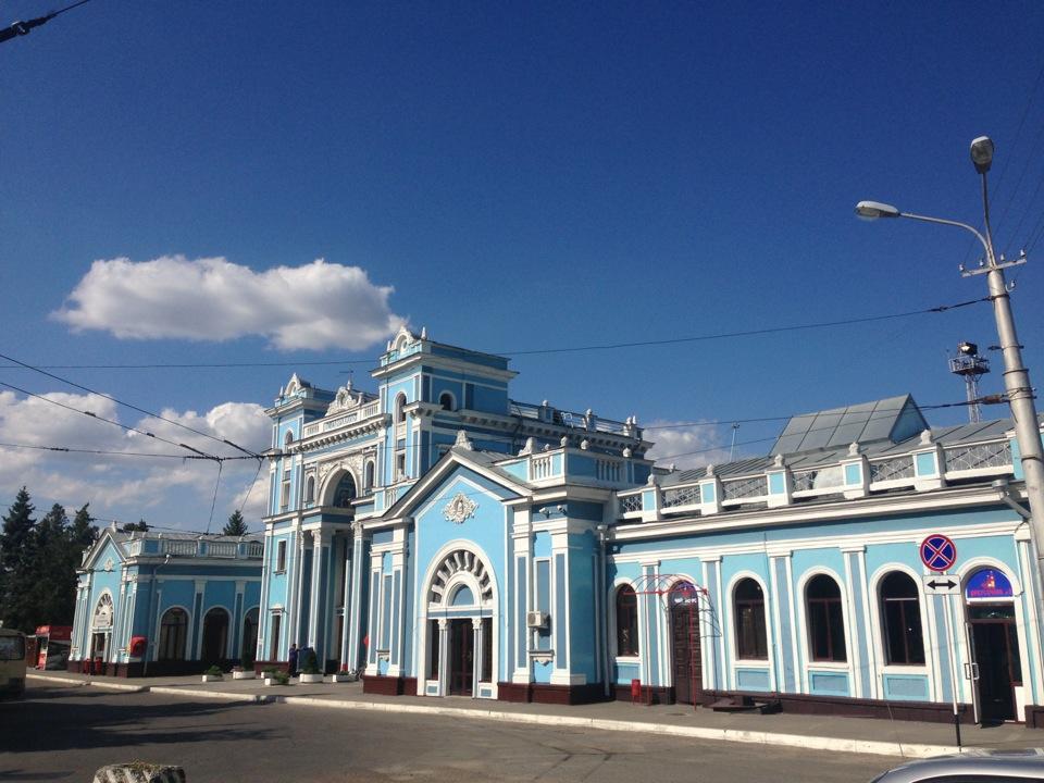 ЖД вокзал Ставрополь