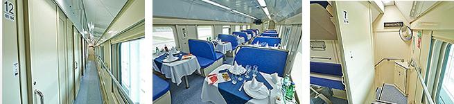 Фирменный поезд Санкт-Петербург – Москва (двухэтажный, 005А/006А)