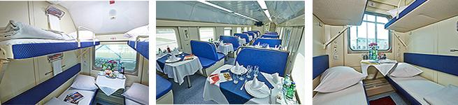 Фирменный поезд Северная Пальмира (двухэтажный, 035А/036С)
