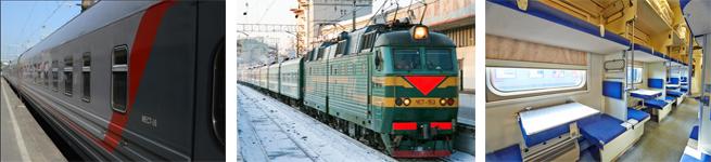 Фирменный поезд Сура (051Й/052Й)