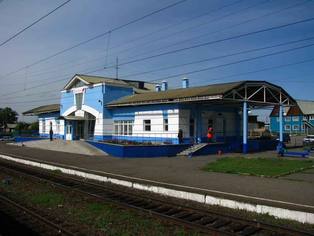 ЖД вокзал Залари