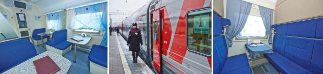 Фирменный поезд Ярославль – Москва (103Я/104Я)