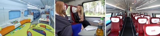 Фирменный поезд Москва – Воронеж (двухэтажный, 738Ж/737Ж)