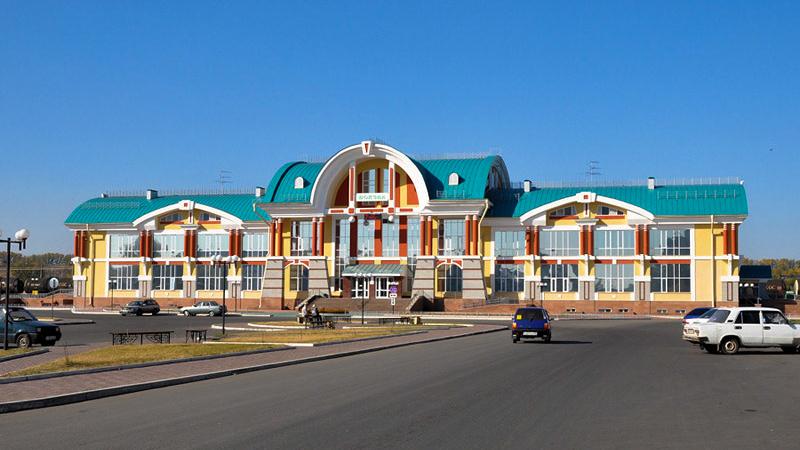 ЖД вокзал Бийск