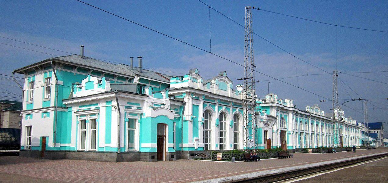 ЖД вокзал Тайга