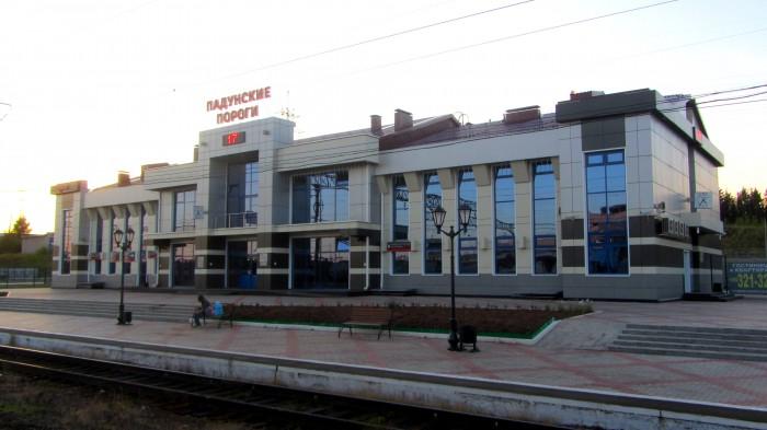 ЖД вокзал Падунские Пороги
